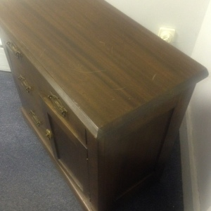 Chest, Small - 3 drawer + cabinet 5th