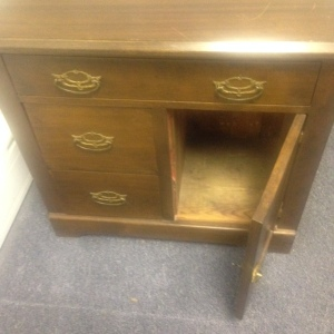 Chest, Small - 3 drawer + cabinet 6th