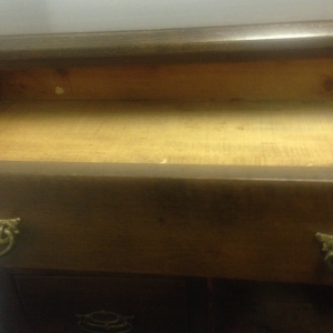 Chest, Small - 3 drawer + cabinet - inside top drawer