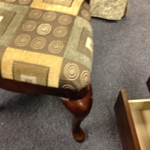 Dining Chairs - Formal, different fabric 2