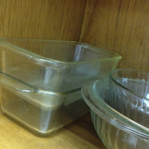 Pyrex Glass Loaf Dishes