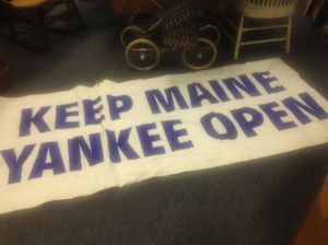 Sign - Keep Maine Yankee Open 2