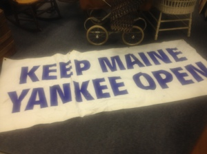 Sign - Keep Maine Yankee Open