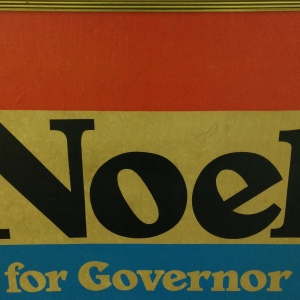 Sign - Noel Governor Close Up