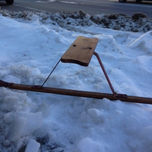 Ski Skooter or Suicide Sled