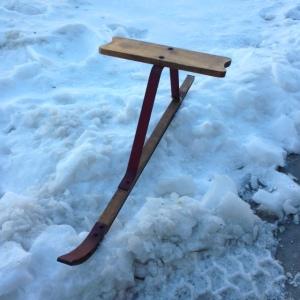 Ski Skooter or Suicide Sled