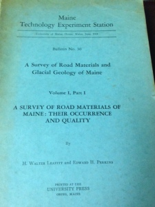 A Survey of Road Materials 3