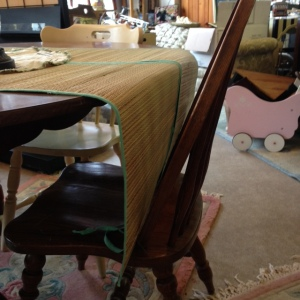 Dining Table 3 Chairs 3