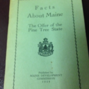 Facts About Maine