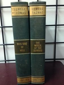 Lowell Thomas books