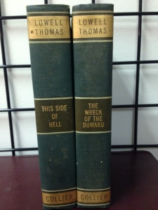 Lowell Thomas books