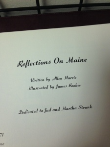 Reflections on Maine 2