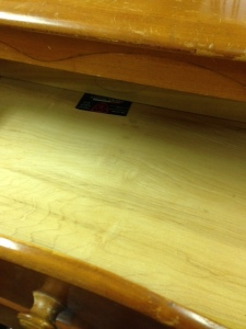 Rock Maple Dresser 9