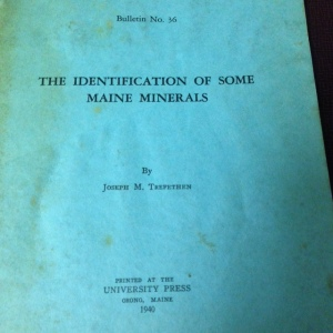 The Identification of Some Maine Minerals 2