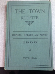 Town Report 1906