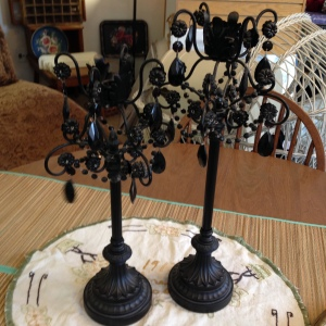 Black Candlesticks