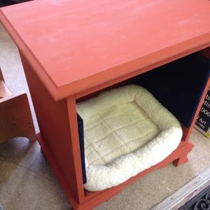 Dog Bed in Pumpkin 7