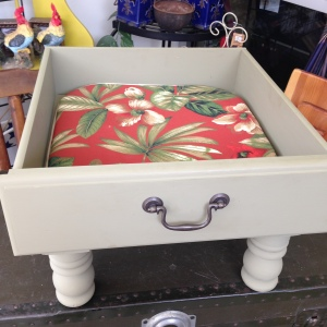 Dog Bed in Sage Green 2