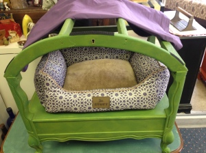 Dog Bed with Canopy 2