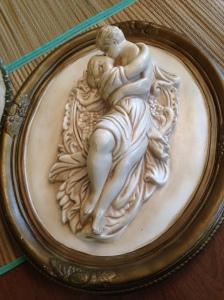 Lovers Bas Relief