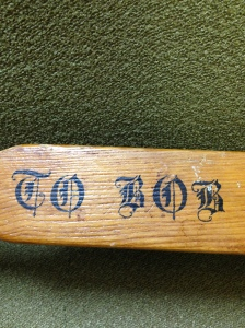 Wooden Paddle 1955 008
