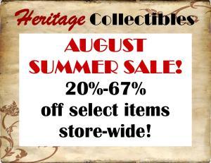August 2016 Summer Sale