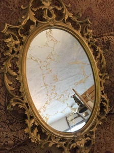 Gold Veined Mirror 2