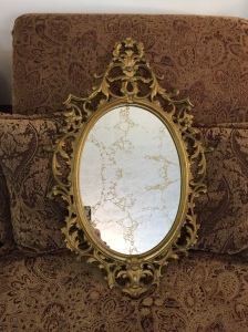 Gold Veined Mirror