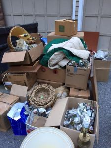 We've just started sorting items from a church clean out.