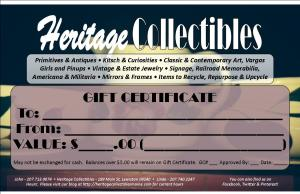 HC - Gift Certificate - One Up