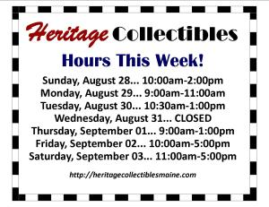 Hours - Week of 08 28 2016