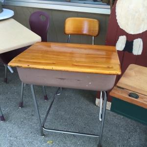 School Desk - the memories!