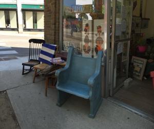 Shop exterior, 9/3