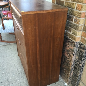 Dresser, Inexpensive - side view