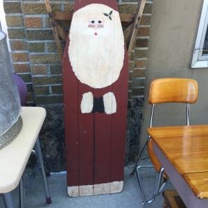 Ironing Board Santa - full length