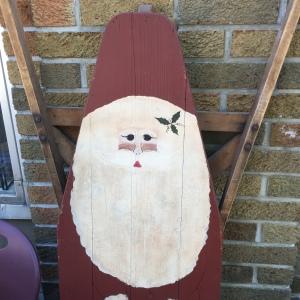 Ironing Board Santa