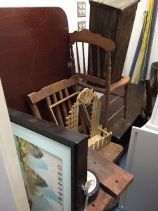 Our salvage closet is over-flowing!
