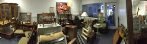 And a 4th panorama of the inventory in our Furniture Gallery