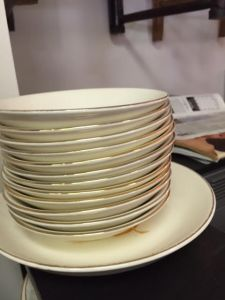golden-wheat-dishes-12-small-bowls-and-1-larger-one