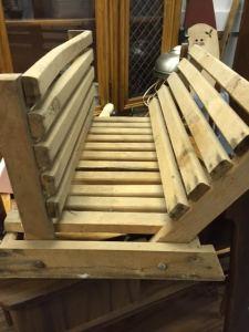 Rustic Magazine Rack or Fireplace Log Holder