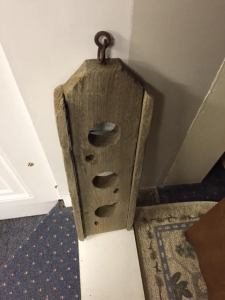 Wood Thing With 3 Holes
