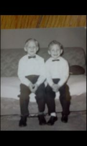 John and Andy as youngsters