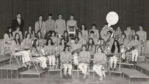 The Telstar High School Band. Both John and I were members.