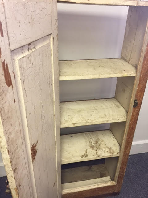 This Rustic/primitive Jelly Cabinet Was Apparently Pulled Out Of An Old  Building In The Lewiston Auburn Area. We Got It From A Customer Who Said He  Didnu0027t ...