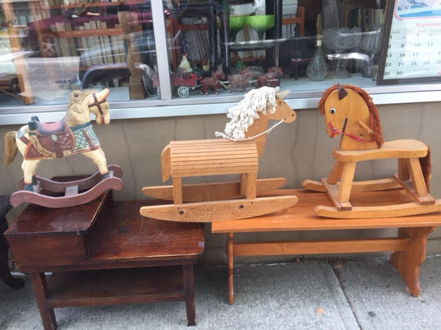 We Have Two Wonderful Vintage Rocking Horses!