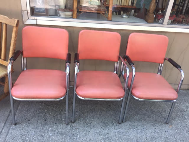 Mid Century Modern Industrial Office Or Waiting Room