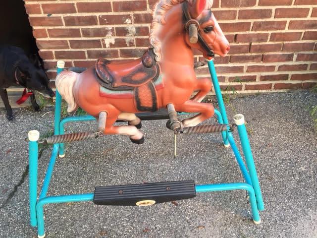 Vintage Child's Rocking Horse!