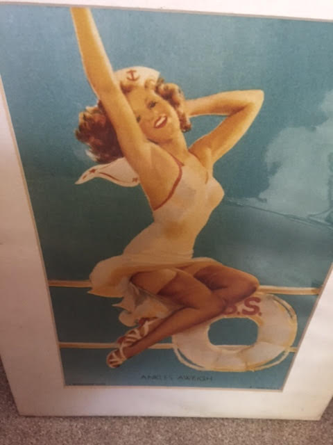 Vintage 1940s Era Glamour / American Beauties Pinup Posters
