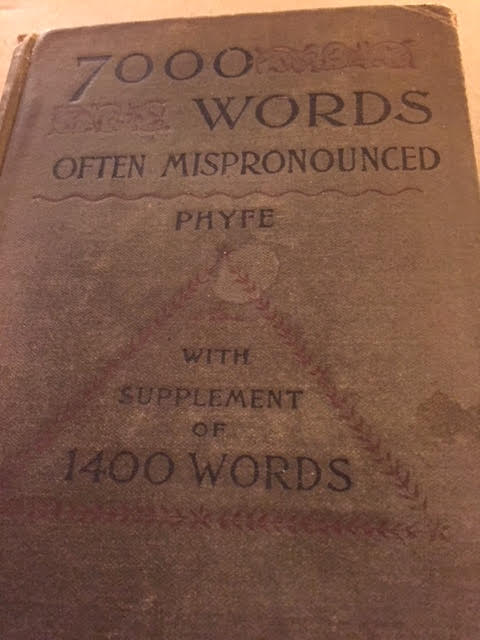 7000 Words Often Mispronounced – With Supplement of 1400 Words, 1899