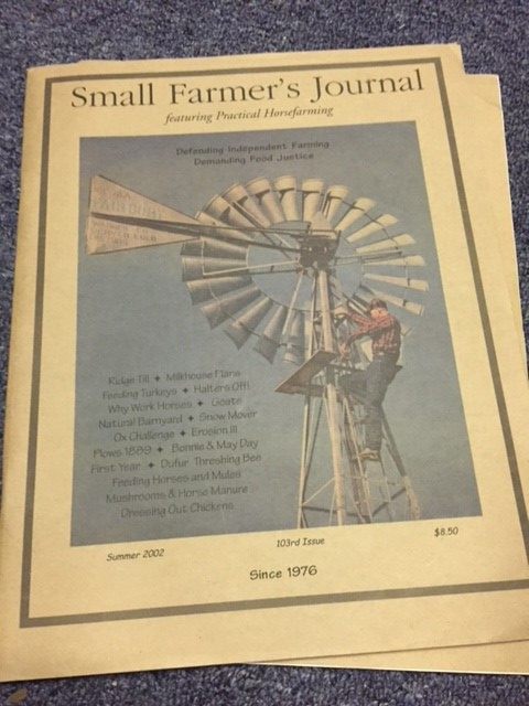 18 Copies of Small Farmer's Journal, 1999-2005
